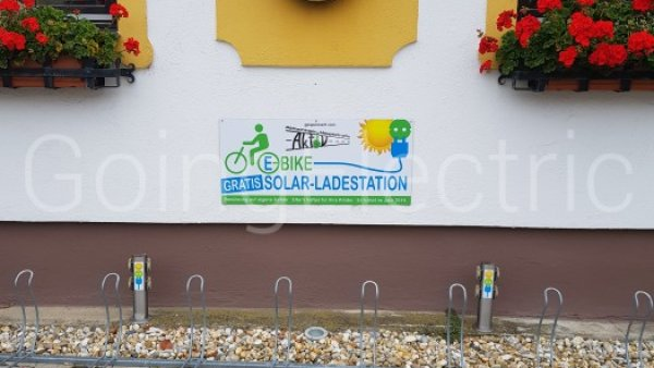 Photo 0 E-Bike Solar Ladestation