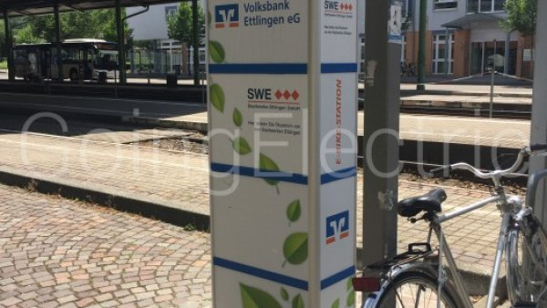 Photo 4 E-Bike Ladesäule Stadtbahnhof