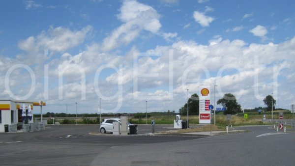 Photo 9 Shell-Tankstelle