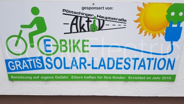 Photo 2 E-Bike Solar Ladestation