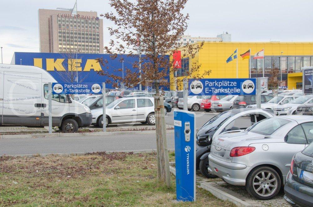 Ikea Parkplatz Berlin Lichtenberg Berlin Deutschland 413