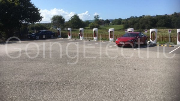 Photo 0 Supercharger Area de Servico de Reocin
