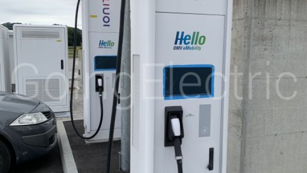 Photo 1 IONITY OMV Tankstelle
