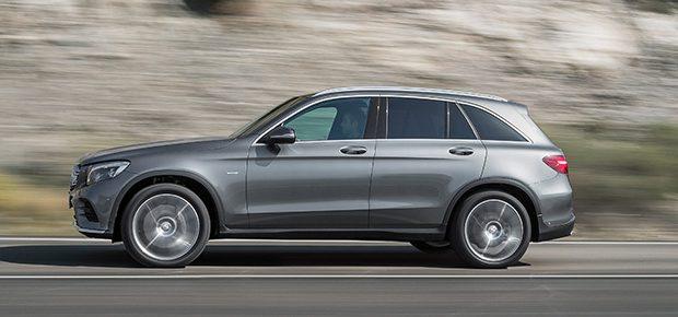 So ähnlich könnte as Elektro-SUV aussehen/ Bild: Mercedes-Benz