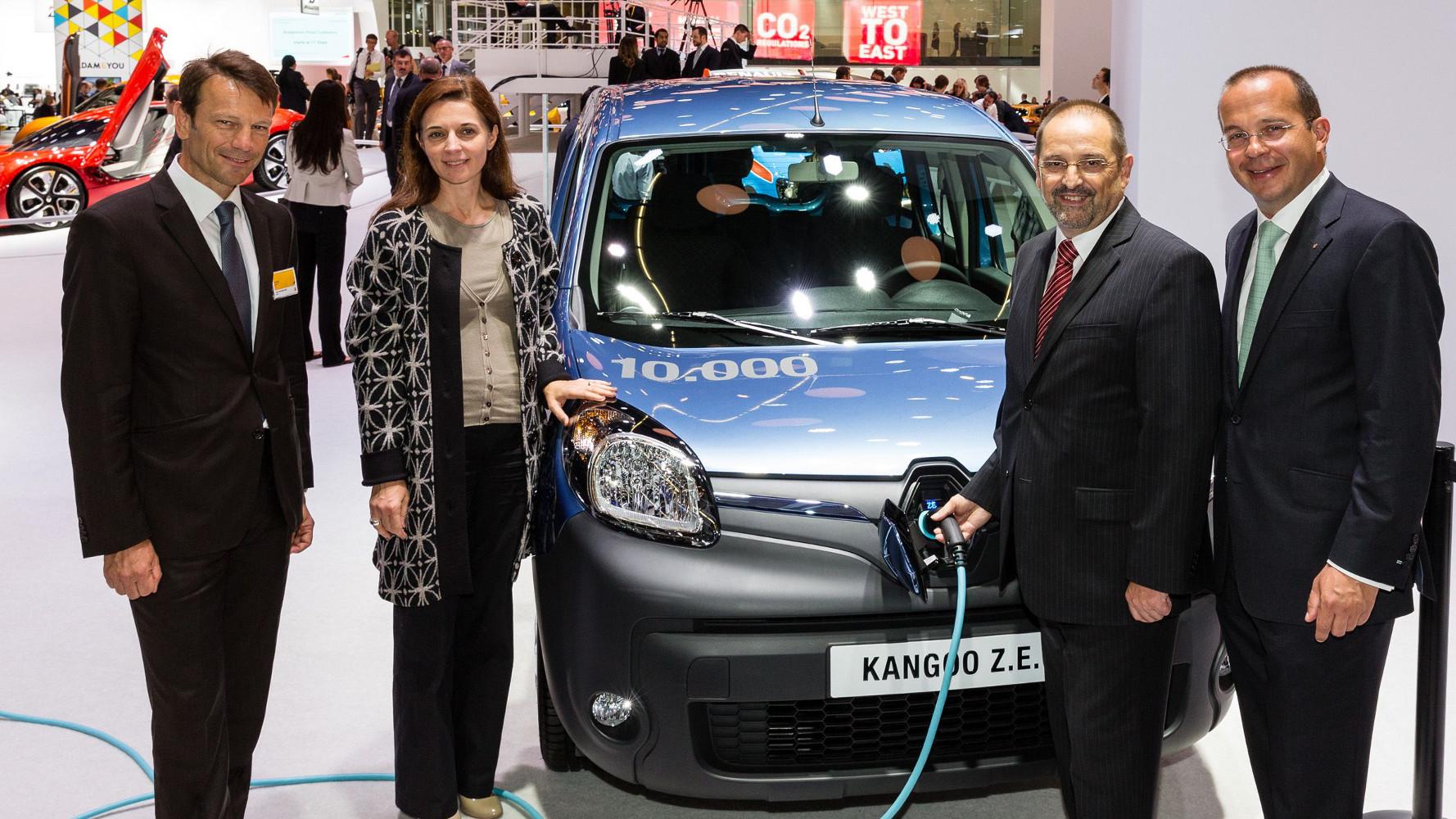 Renault verkauft 10.000. Kangoo Z.E.