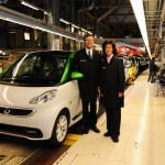 smart fortwo electric drive Produktion Hambach
