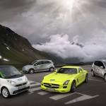 Silvretta E-Auto Rallye Daimler