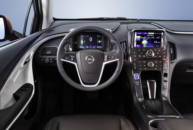 Opel Ampera Elektroauto Blog