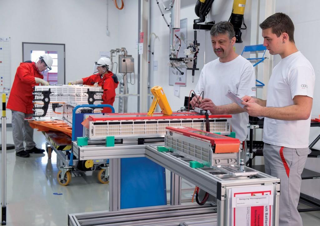 Projekthaus Hochvolt-Batterie - Audi