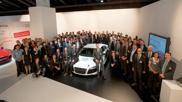 Audi Projekt e performance Baukasten Elektroauto