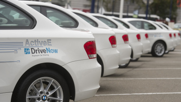 BMW ActiveE nun bei DriveNow Berlin