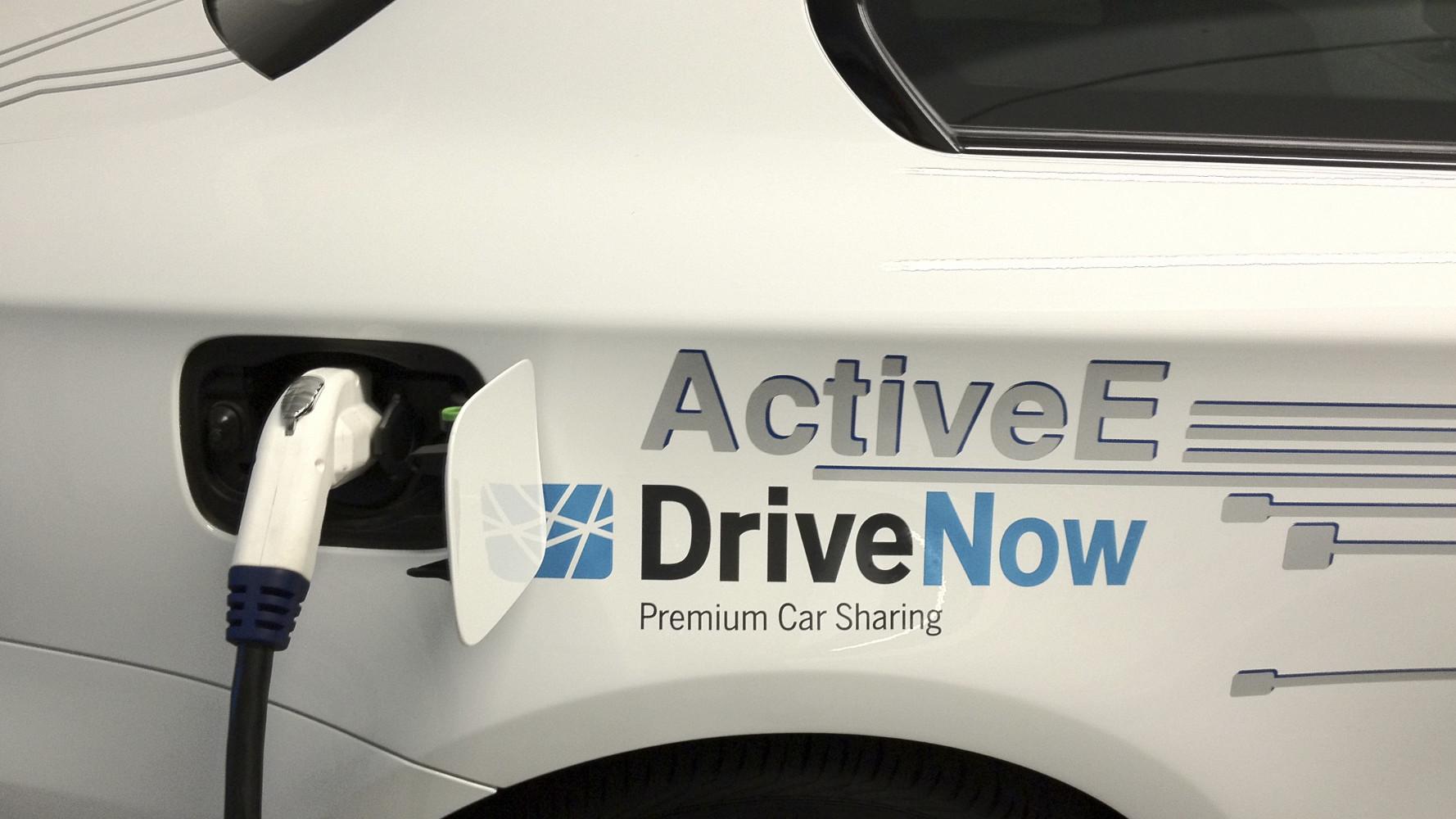 DriveNow erweitert Flotte um BMW ActiveE