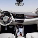 BMW Concept Active Tourer Armaturenbrett