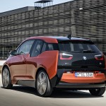 BMW i3 Solaroprange hinten