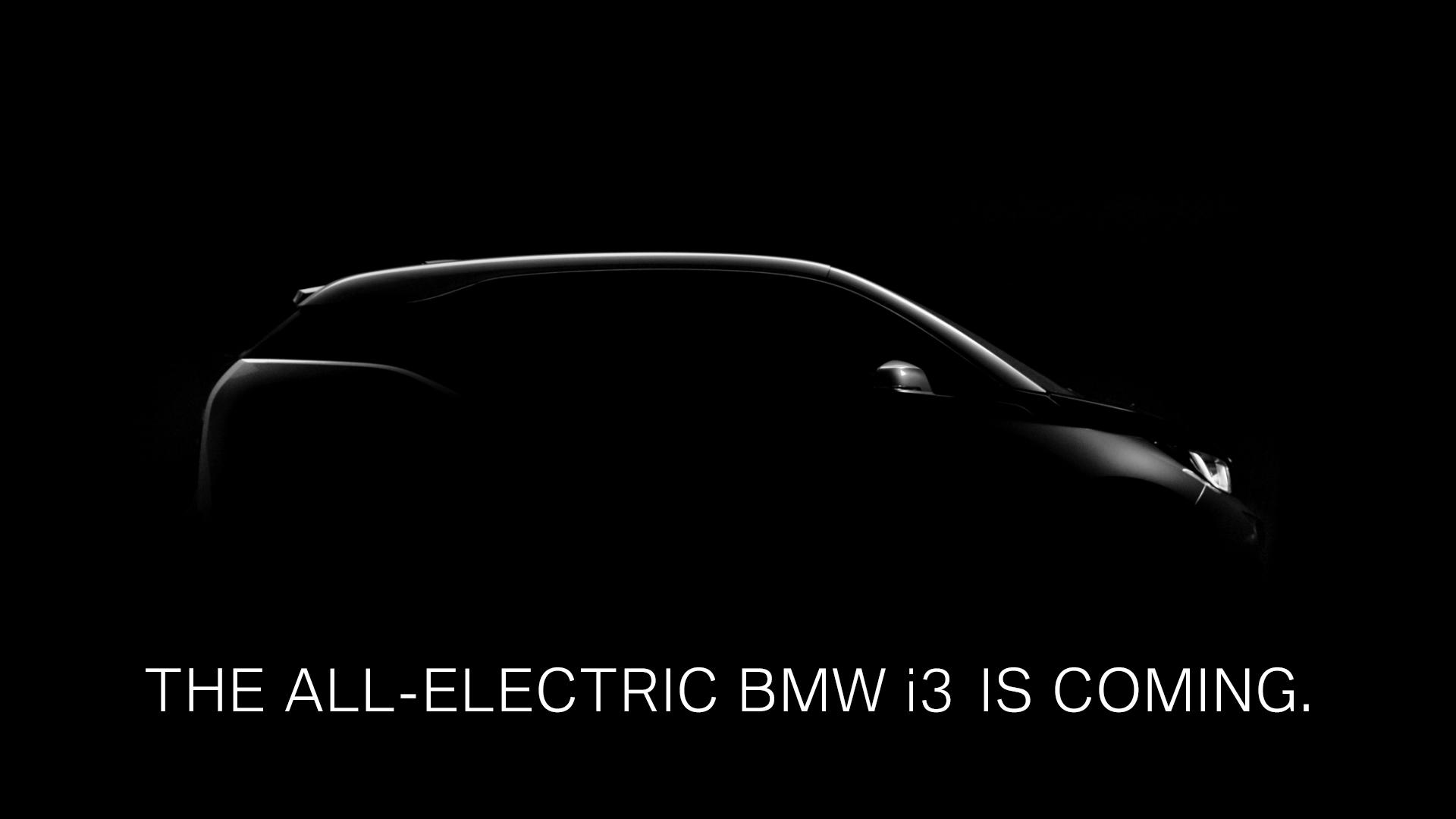 BMW i3 Teaser [Video]