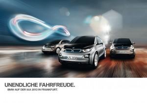 BMW i3 unendliche Fahrfreude IAA 2013
