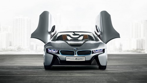 """BMW i8 """"North American Concept Car of the Year"""""""
