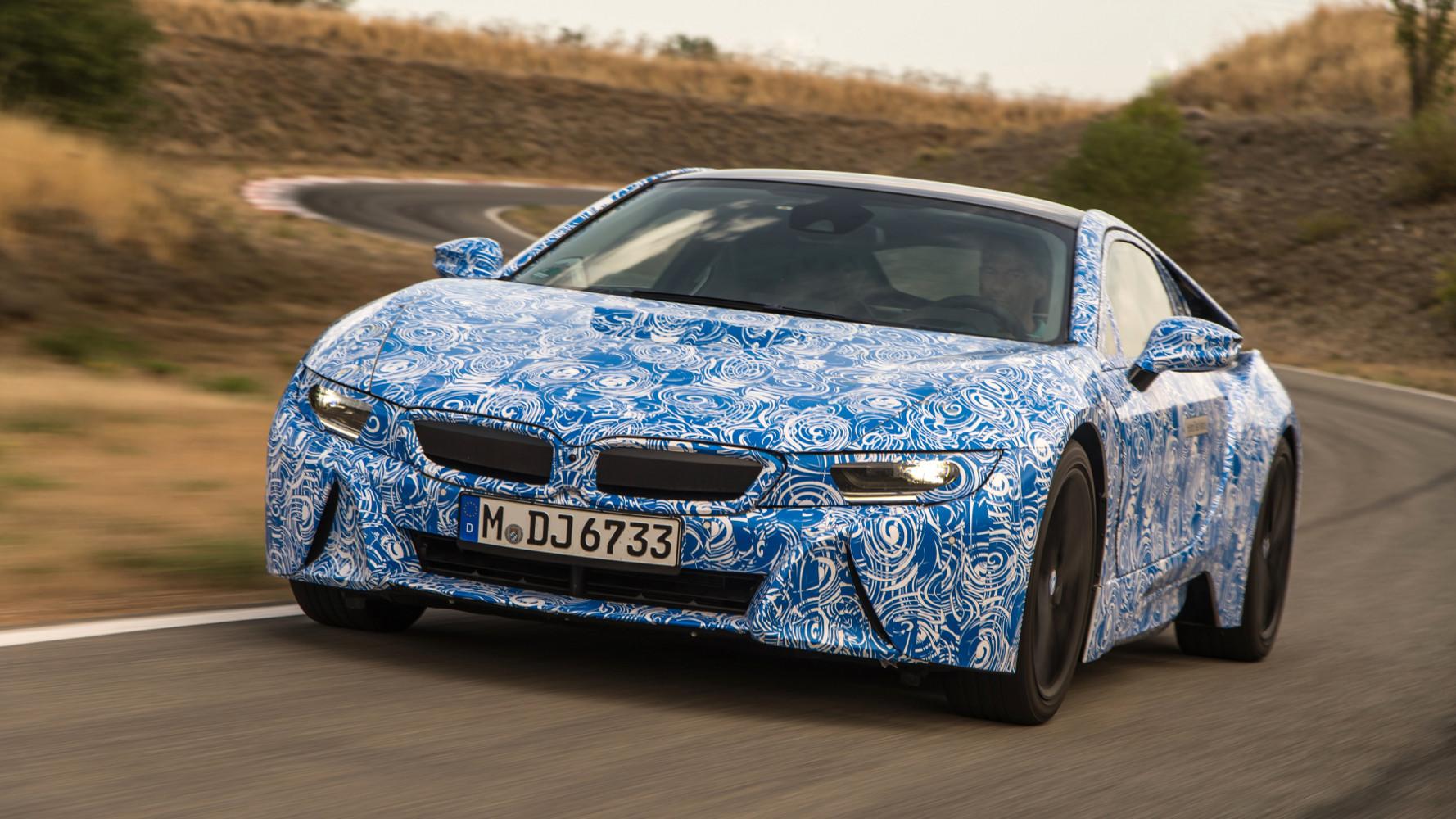 BMW i8 Premiere auf der IAA 2013 – neue Details