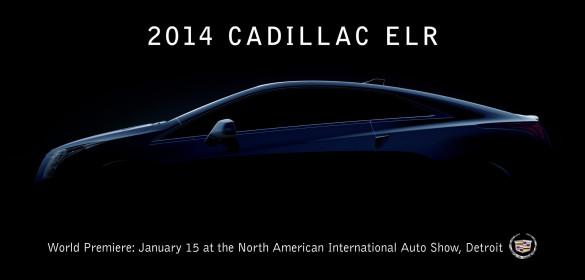 Cadillac ELR Teaser