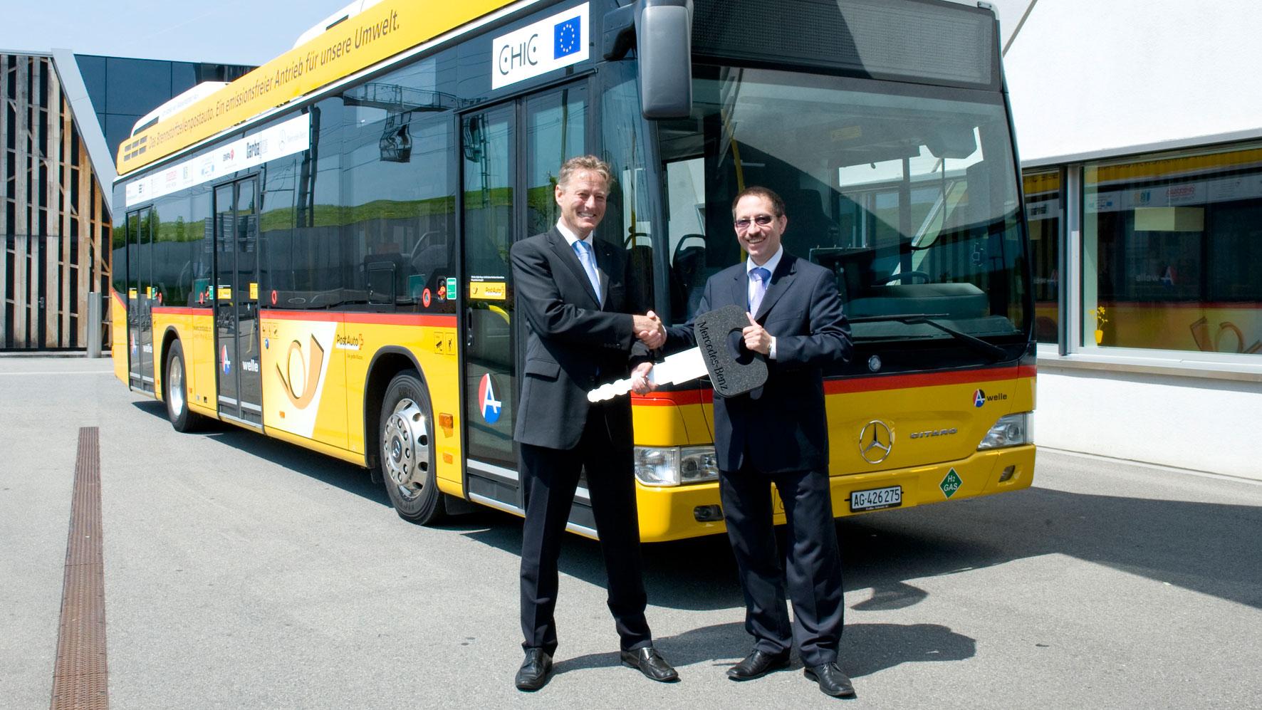Citaro FuelCELL-Hybrid gewinnt EBUS Award