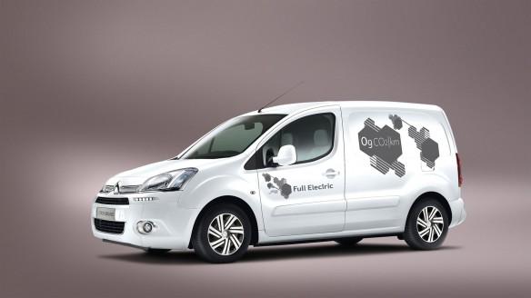Citroën Berlingo Electrique Weltpremiere