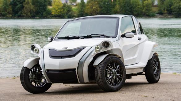 Courb C-Zen kleines Elektroauto aus Frankreich