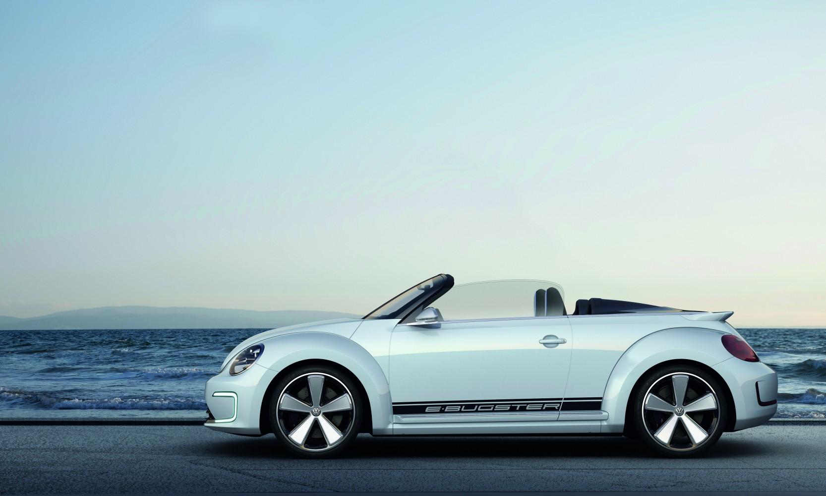 VW Beetle oben ohne – E-Bugster Peking 2012