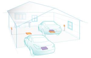 Induktive Ladung von Elektroautos