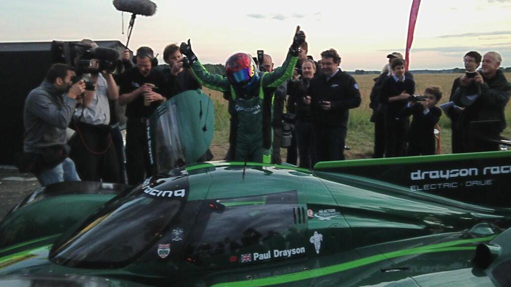 Weltrekord: Drayson ist schnellstes Elektroauto