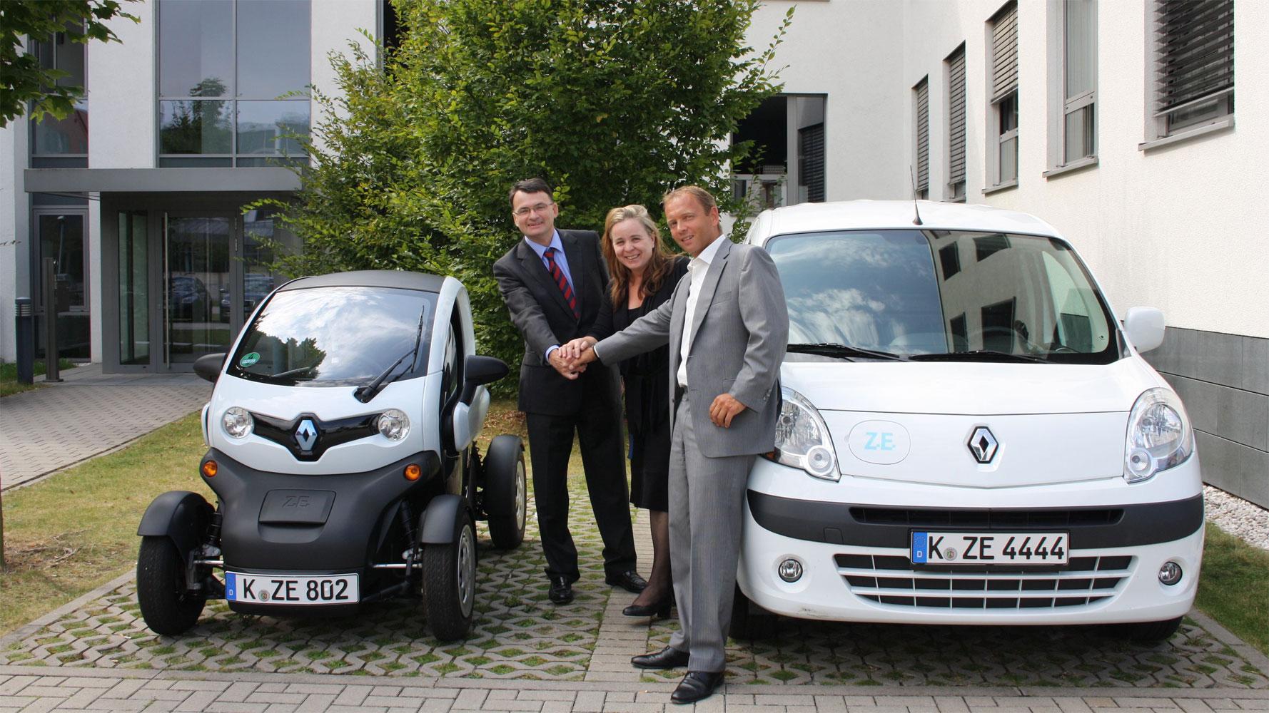 Elektroauto Leasing: Renault kooperiert mit Athlon