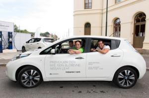 Elektroauto Rekordversuch in Oslo