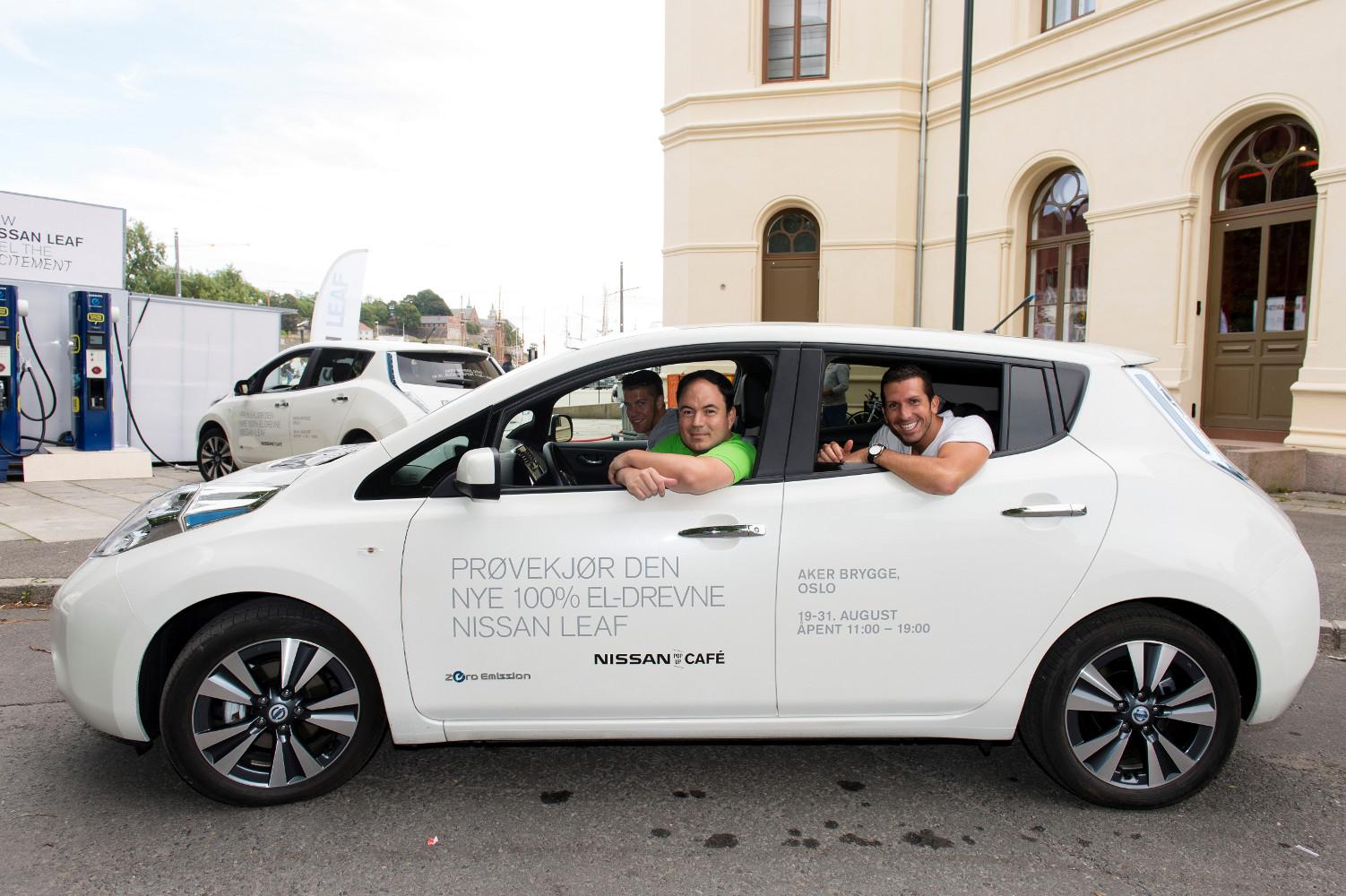 Längste Elektroauto Parade – Rekordversuch in Oslo