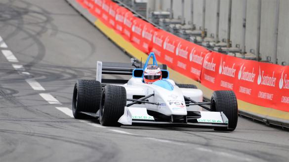 Formel E im Olympia Park London