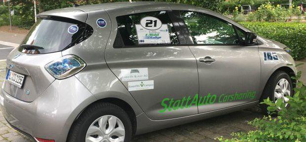Unser Wochenend-Rallye-Auto: Die Renault Zoe von StattAuto