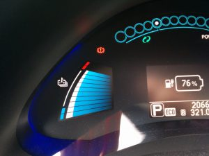 Nissan Leaf Batterietemperatur