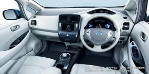 Nissan Leaf 2013 G Innenraum