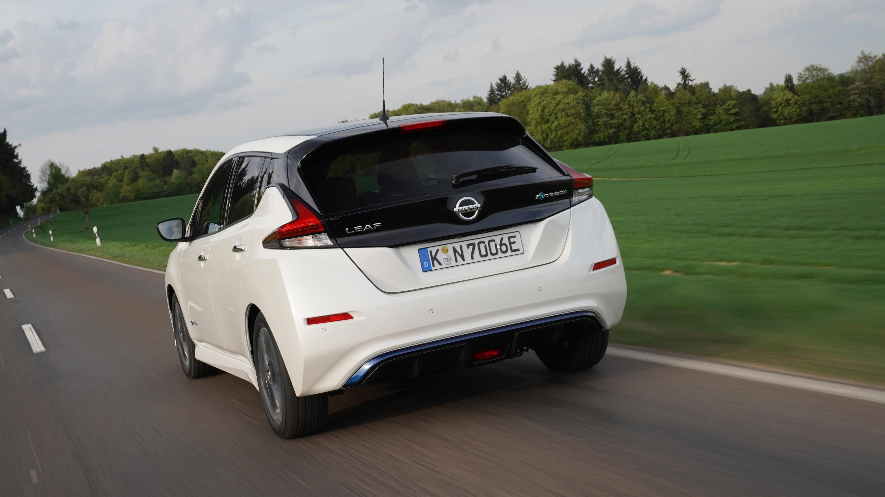 nissan leaf 2018 - fahrspaß dank e-pedal | elektroauto blog