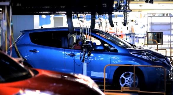 Nissan Leaf Produktion Tennessee