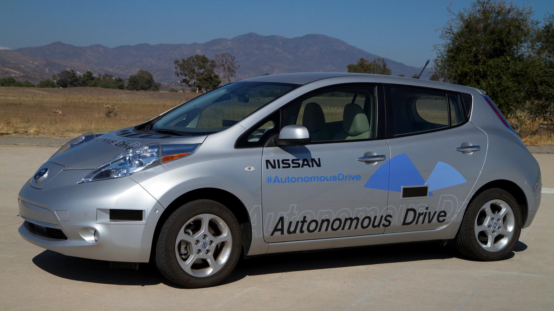 Nissan will autonomes Auto in 2020 anbieten