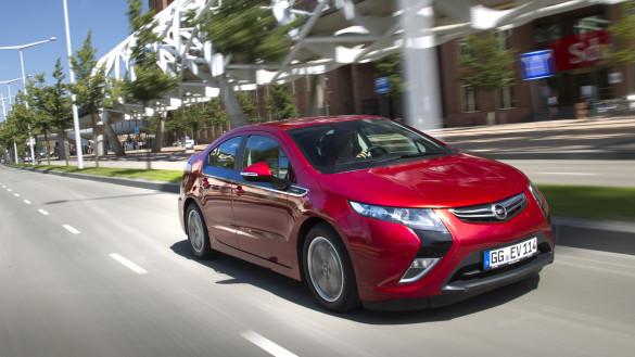 Opel Ampera ist das meistverkaufte Elektroauto 2012
