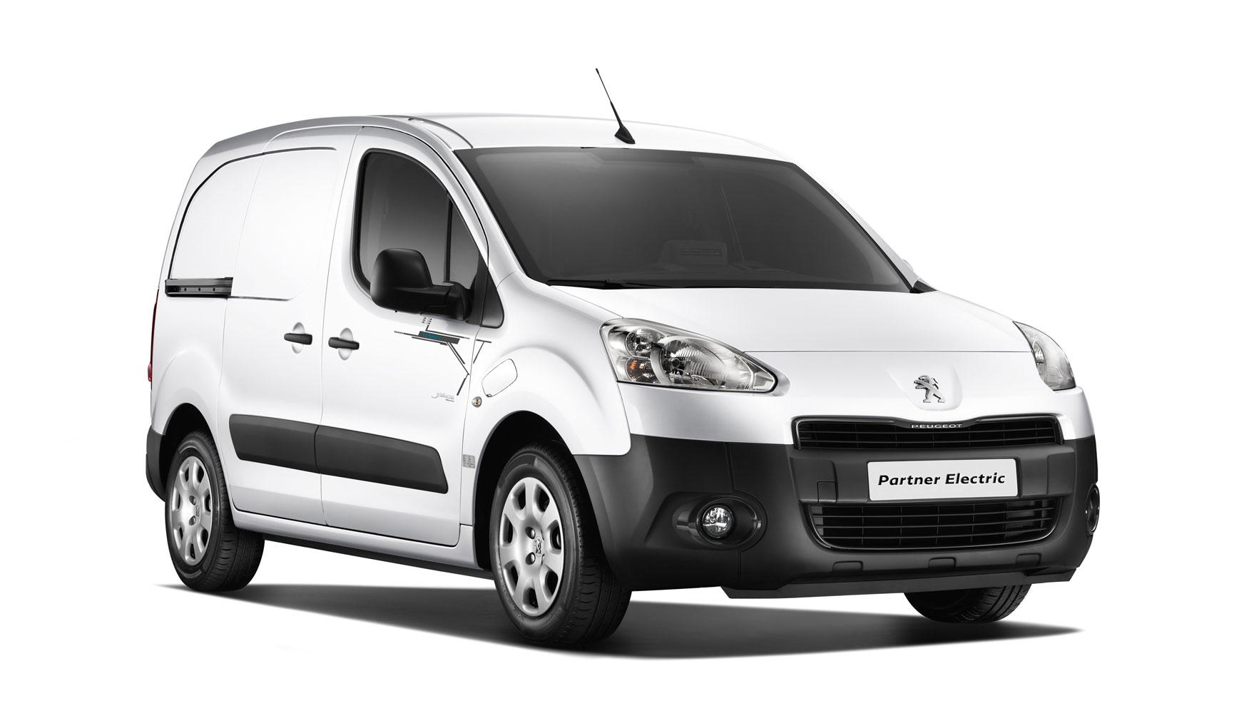Peugeot Partner Électric Weltpremiere