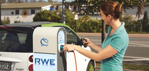 RWE betreibt 2.000 Ladepunkte in Europa