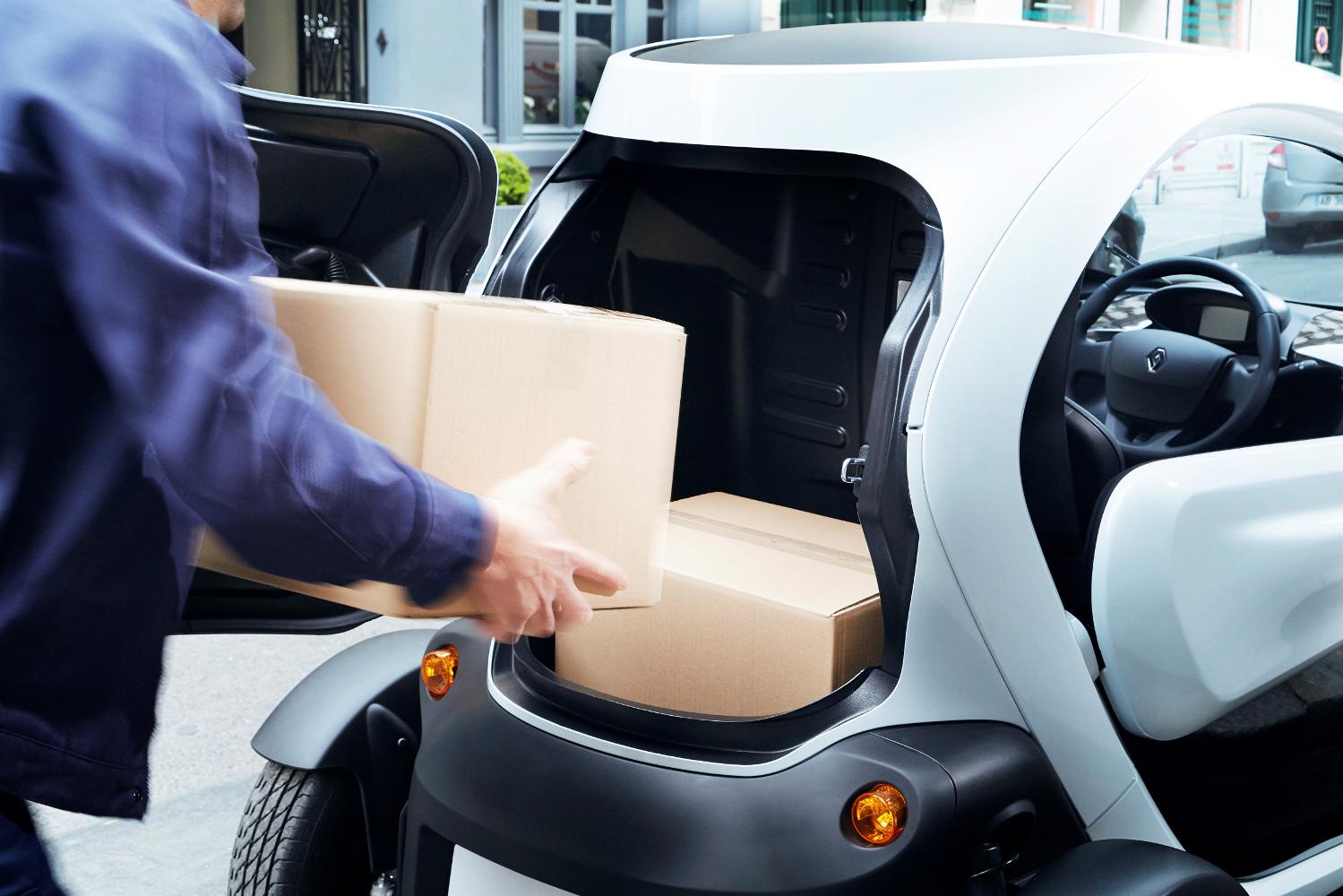 renault twizy cargo 2013 elektroauto blog. Black Bedroom Furniture Sets. Home Design Ideas