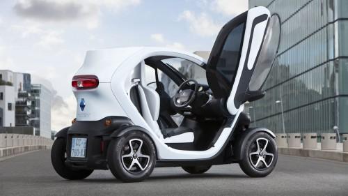 Seitenscheiben für Twizy von Renault – Autosalon Paris