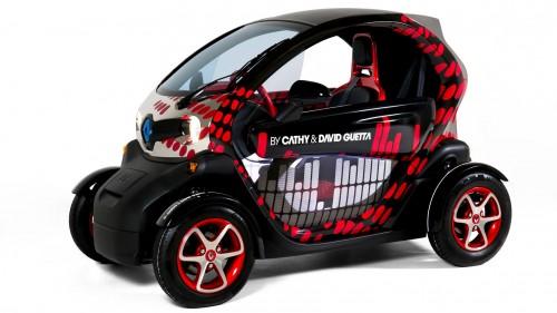 Renault Twizy by Cathy & David Guetta – Autosalon Paris