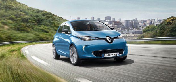 Der Renault ZOE bekommt CCS