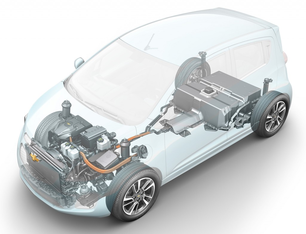 Chevrolet Spark electric