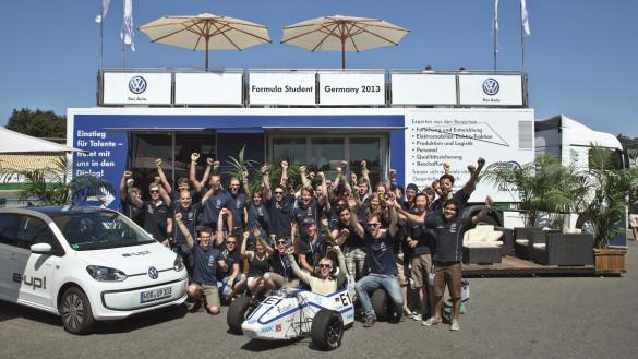 TU Delft gewinnt Formula Student Germany 2013
