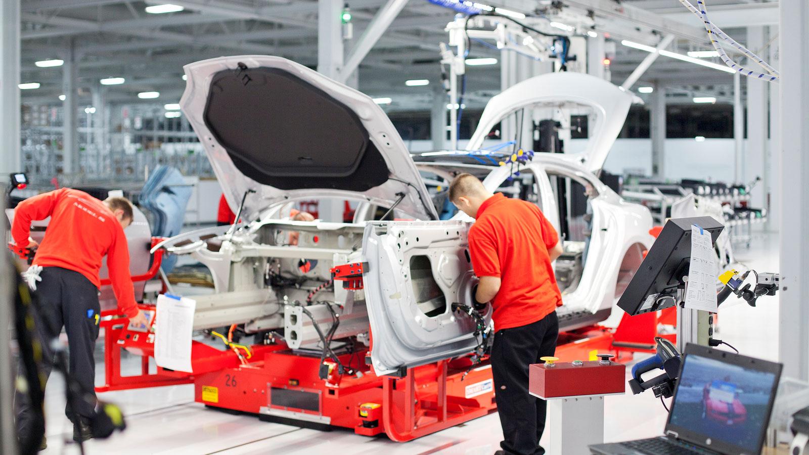 Teslas Gigafactory: Batterien für die Welt