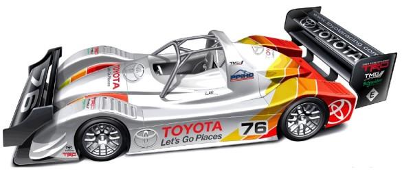 Toyota TMG EV P002 Pikes Peak 2013